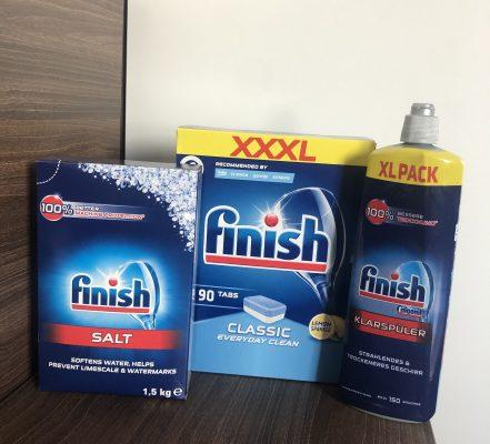 Combo viên rửa bát Finish 3 Sp