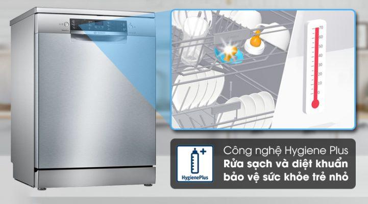 Hehyper diệt khuẩn Máy rửa bát Bosch