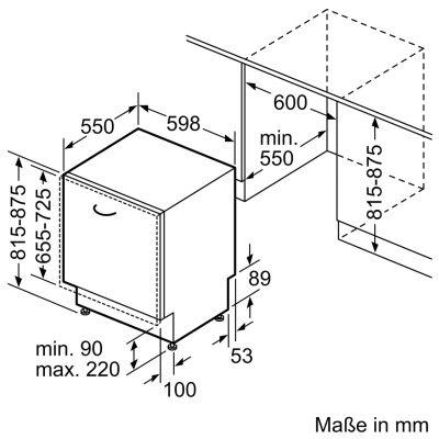 Thiết kế máy rửa bát Bosch