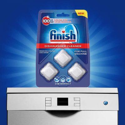 Tính năng viên vệ sinh máy rửa bát Finish