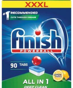 viên rửa bát finish All in 1 loại 90 viên