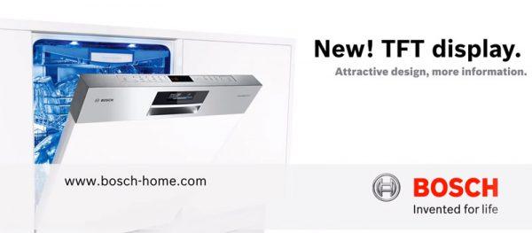 màn hình máy Rửa Bát Bosch SMS88TI40M