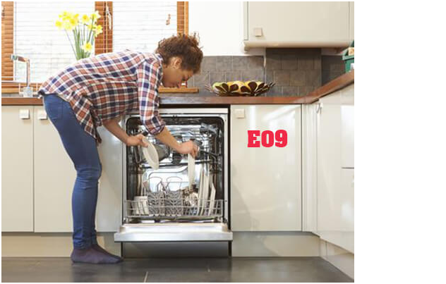 Lỗi E09 máy rửa bát Bosch, Nguyên nhân - cách khách phục