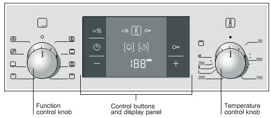 Điều khiển lò nướng Bosch HBA512BR0