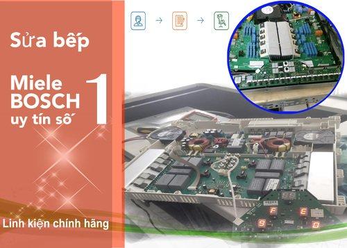 Giải pháp và mã lỗi bếp từ Bosch